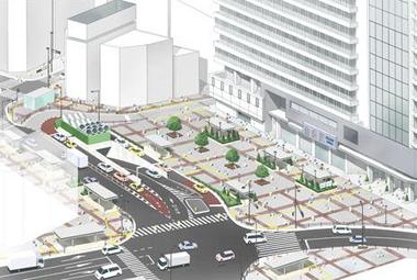 池袋駅西口駅前広場整備計画