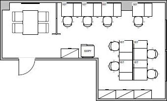 5.オフィス・ビル/貸室面積10坪/収容人数8人