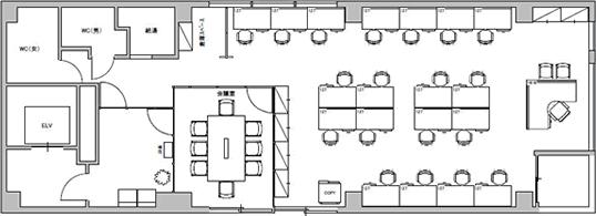 7.オフィス・ビル/貸室面積30坪/収容人数20人